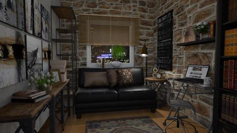 Feel good - Retro - Living room  - by Artem Vivendi