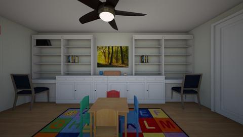 Luis Playroom A edited - Kids room - by karinagranado