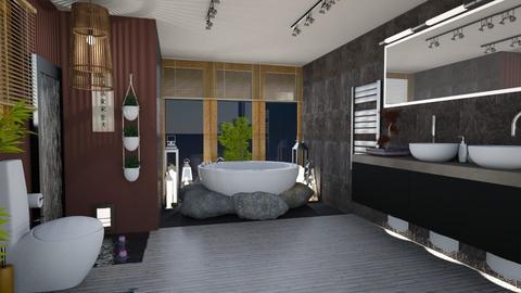Lily Pond Bathroom - Bathroom  - by CassW