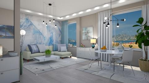 M_ Home - Modern - Living room  - by milyca8