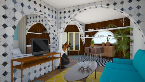 Bedroom retreat - Bedroom - by lysha
