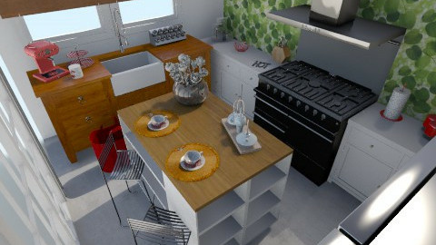 Suesa 2 - Vintage - Kitchen  - by Marihuky8