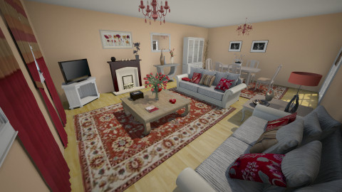 esleidys - Country - Living room  - by pajan