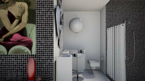 joan bennett - Bathroom  - by Sara alwhatever