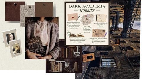Dark Academia - by Anu and Janu