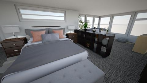 MBA House Unit 422 - Modern - Bedroom  - by belenquirce