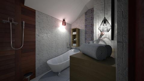 big bathroom 2 - Classic - Bathroom  - by sancharib