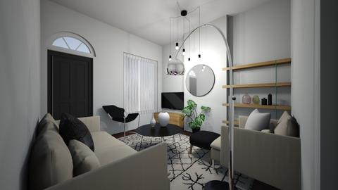 Neutral Scandi  - Modern - Living room  - by brooksj646