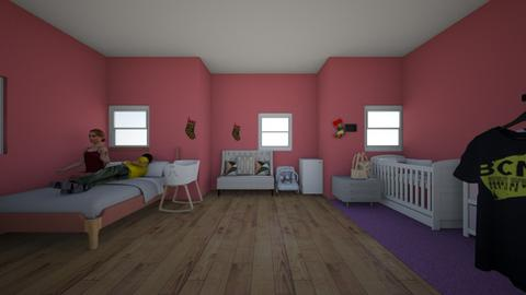 family bed room Baby room - Classic - Bedroom  - by Dynasty Bogans