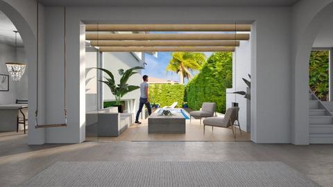 Pool - Modern - Living room  - by Malithu
