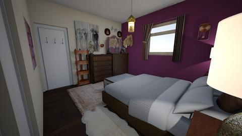 bedroom plan 1 - Bedroom - by pinklilith
