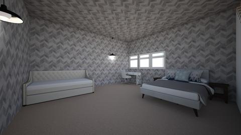 basment bedroom - Bedroom - by tropicalxoxo