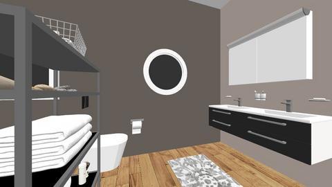 modern bathroom - Modern - Bathroom  - by ToumaM