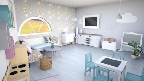 modernspaciousplayarea - Modern - Kids room  - by tahliawaters