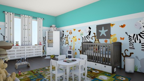 baby room j1 - Kids room - by Lauris Osorio