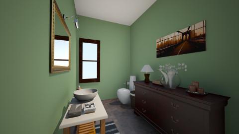 Venus_Washroom2 - Classic - Bathroom  - by vivian wong_172