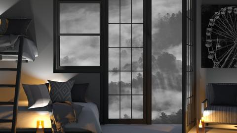 Night Bunks_Grey - Bedroom  - by KittyKat28