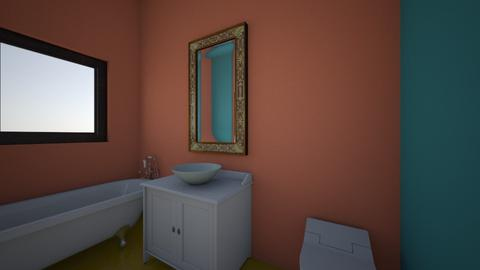 Baie Lucia Melencu - Bathroom  - by AlexandraLazarescu