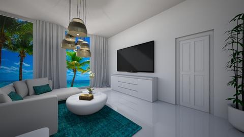 Minimal living room - Modern - by Audrey17