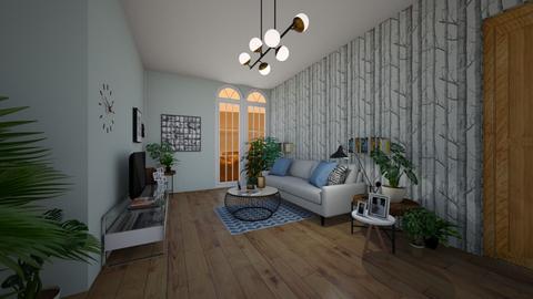 ITV obyvacia izba  - Living room - by Kristina Bacinska