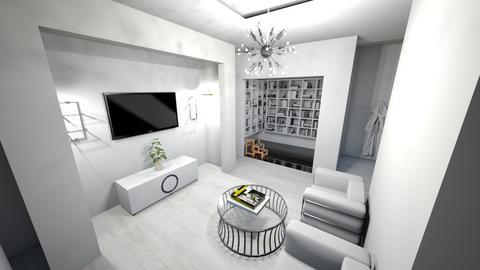 Minimal Living Room - Kitchen  - by Gab71892