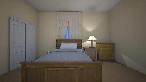 Small Condo Upstairs - Bedroom  - by mspence03