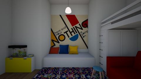Bauhaus Bedroom - Bedroom  - by theIrishdog