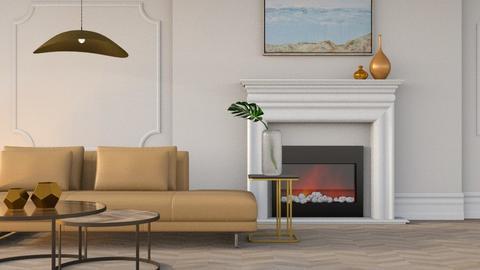 Beige - Living room  - by JennieT8623