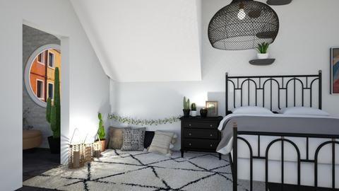 Boho style - Bedroom  - by Meghan White