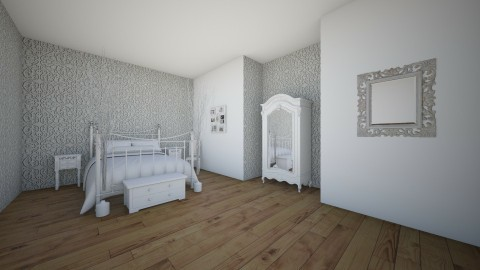Princesa - Feminine - Bedroom - by Jenni Leguiza