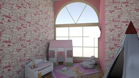 Girl room - Kids room  - by Aniela067