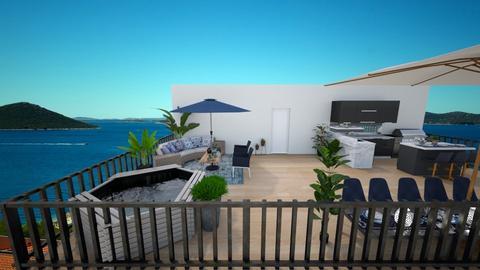 rooftop terrace - by Feeny
