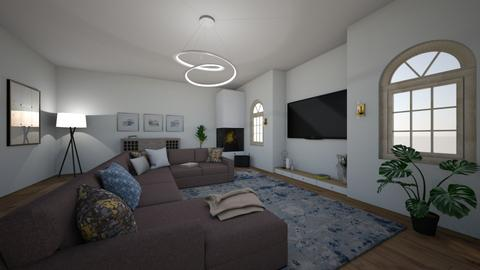 Cosy and light - Modern - Living room  - by Carole Fontaine
