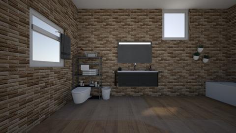 Departamento - Modern - by habitacion gamer