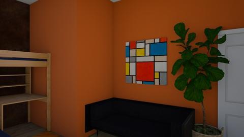 tessas fake room - Bedroom  - by IAMHUMAN