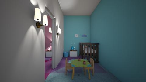 neruey - Kids room  - by mashhoud