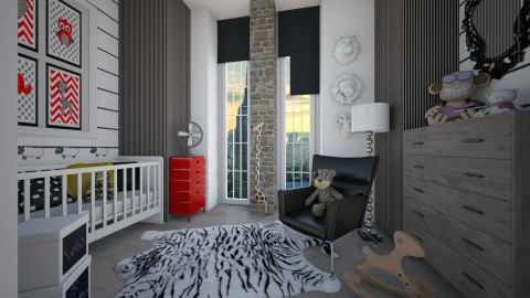 ekr - Eclectic - Kids room - by Senia N