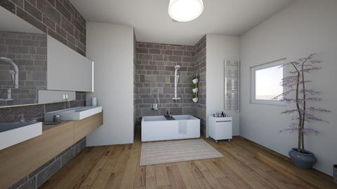 bathroom 1 - Modern - Bathroom - by Loritt15