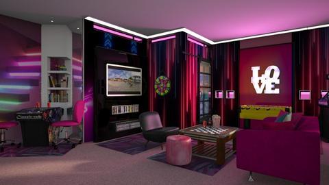 Teen girl room - Modern - by ZsuzsannaCs