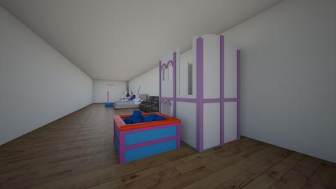 sonic - Kids room  - by Vicente lamas
