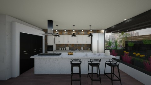 Departament403 - Minimal - Kitchen  - by Amorum X