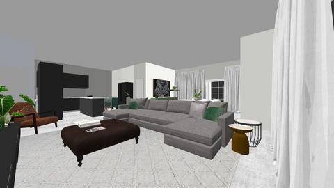 jhonielu - Living room  - by luu