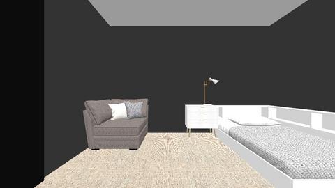 modernbedroom1 - Modern - Bedroom  - by clos123