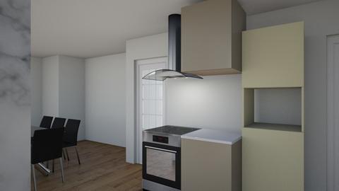 Openspace serranos4 - Kitchen - by AJBS
