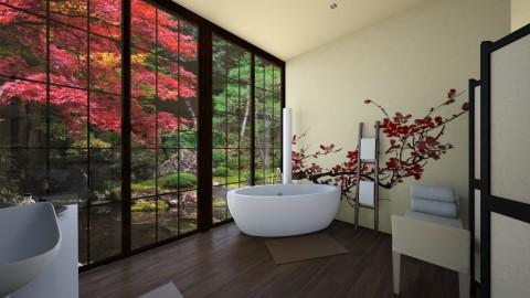 Japanese bathroom - Bathroom  - by Melody06