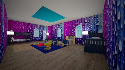 Skylight Bedroom 4 Kids - Kids room - by Anna Weyer