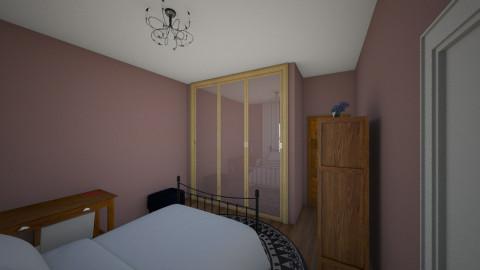 quarto 1 - Country - Bedroom  - by lih_lih