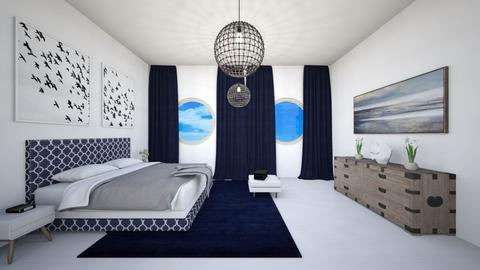 Sea dreams - Bedroom  - by babucka