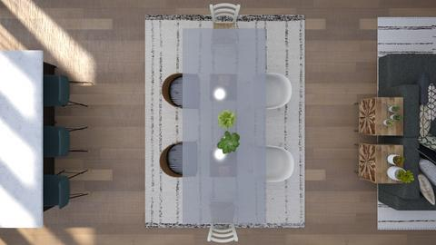 scandinavian - Dining room  - by CitrusSunrise