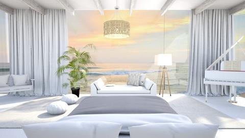 beachy bedroom - Bedroom  - by hmm22